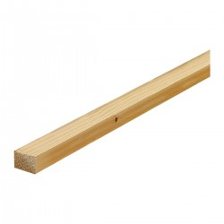 listello in abete 3.00 mt x 3  cm x 2.5 cm -  Perline - Diroshop