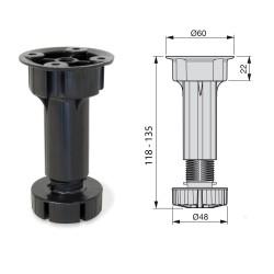 PIEDE IN PLASTICA PER CUCINA H 10/12/15 CM -  Accessori - Diroshop
