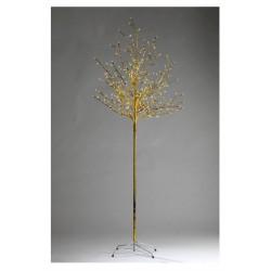 Albero di Natale Luminoso a Led Oro 2,1 m -  Idee regalo natale - Diroshop