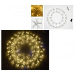 Ghirlanda di Natale Luminosa -  Idee regalo natale - Diroshop