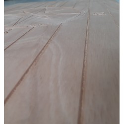 Tavolo per barca in okume pantografato 65 x 48 x 18 mm -  Tavoli Barca - Diroshop