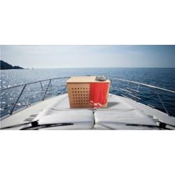 CARABOTTINO CASSAPANCA IN MULTISTRATO OKUME' -  Doghe teak|Tavoli Barca - Diroshop